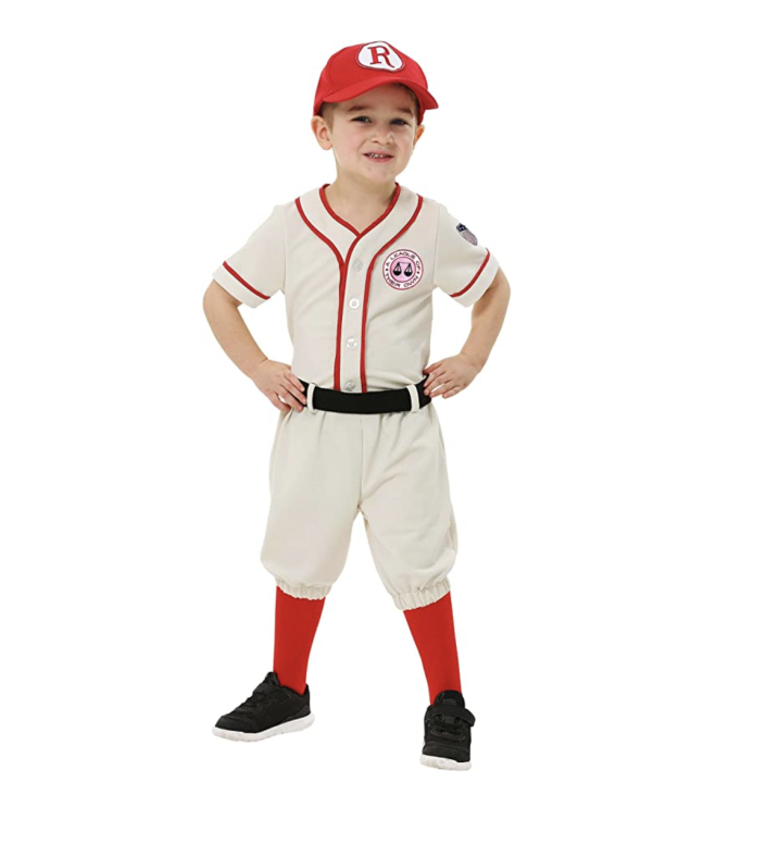 Kid in a League of Their Own costume