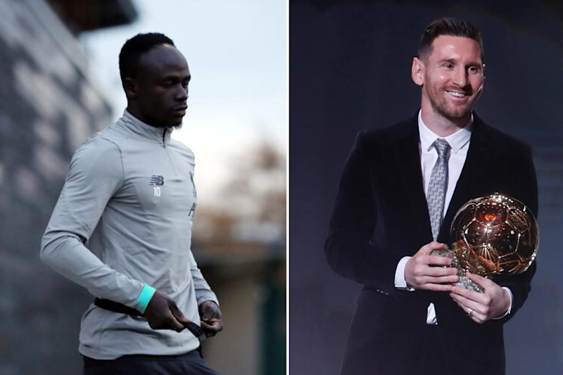 Shame Sadio Mane Finished 4th in 2019 Ballon d'Or Vote: Lionel Messi