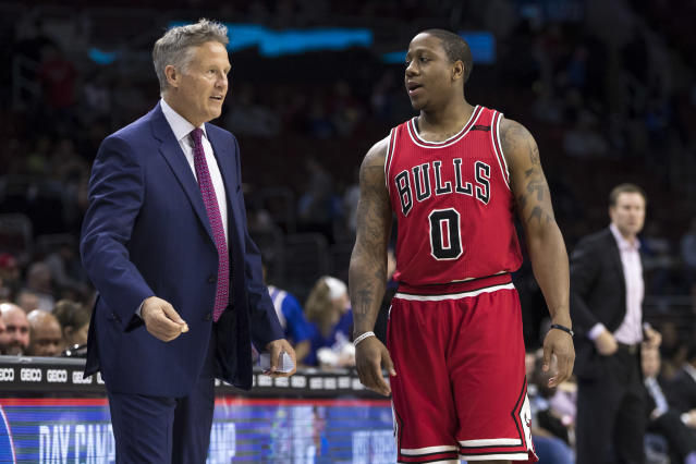 "<a class=""link rapid-noclick-resp"" href=""/nba/players/5204/"" data-ylk=""slk:Isaiah Canaan"">Isaiah Canaan</a> spent last season with the Bulls. (AP)"