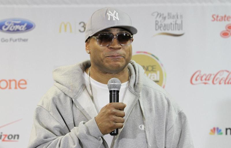 James Todd Smith, known as LL Cool J, stops bye the pressroom on Day 1 of the 2013 Essence Music Festival at the Mercedes-Benz Superdome on Friday, July 5, 2013 in New Orleans. (Photo by Donald Traill/Invision/AP)