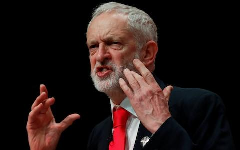 "Jeremy Corbyn said the military strikes in Syria were ""legally questionable"" - Credit: REUTERS/Russell Cheyne"