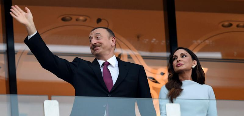 Azerbaijan's President Makes His Wife Second in Command. Photo credit: Matthias Hangst/Getty Images for BEGOC