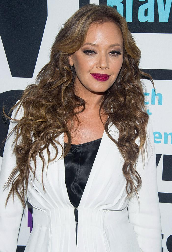 WATCH WHAT HAPPENS LIVE -- Pictured: Leah Remini