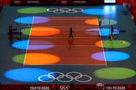 """<p>The beach volleyball player is positive for COVID and could miss his first game, <a href=""""https://apnews.com/article/sports-2020-tokyo-olympics-tokyo-soccer-coronavirus-pandemic-1ae8177bef505404d4cc495fbc8b2c93"""" rel=""""nofollow noopener"""" target=""""_blank"""" data-ylk=""""slk:The Associated Press"""" class=""""link rapid-noclick-resp"""">The Associated Press</a> reported on July 19. Team leader Martin Doktor told the outlet in a statement that they will ask to postpone the game until Perušič, who is vaccinated, is cleared to play. </p> <p>The athlete marks the second person from Team Czech to test positive, according to AP. The first was a team official, whose case was reported on July 17.</p>"""