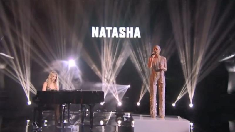 Natasha has sailed through the series so far, even performing with Delta during the knock out rounds. Photo: Channel Nine
