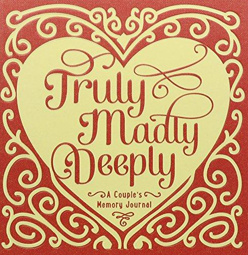 Studio Oh! Couple's Guided Journal, Truly, Madly, Deeply