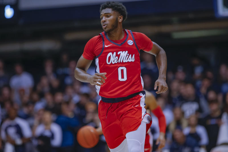 Blake Hinson averaged just over 10 points per game for Ole Miss in 2019-20. (Photo by Michael Hickey/Getty Images)