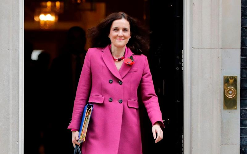 The volunteer was campaigning to re-elected Theresa Villiers, the environment secretary - AFP