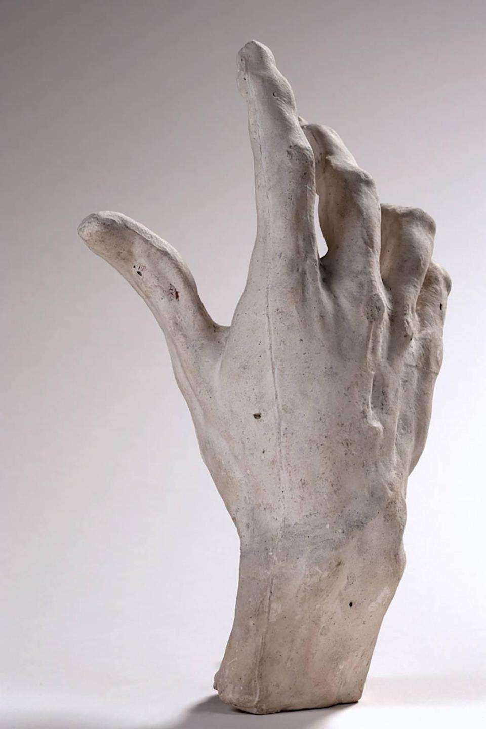 Right hand of Pierre and Jacques de Wissant, 1885–86Musée Rodin