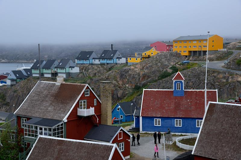 Sisimut, a town on the west coast of Greenland, is the country's second largest town and the largest arctic city in North America. Sisimut is around 200 miles north of Nuuk, the capital of Greenland.