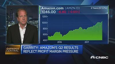 Investors should focus on Amazon losing less money this time around, says David Garrity, CEO of GVA Research.