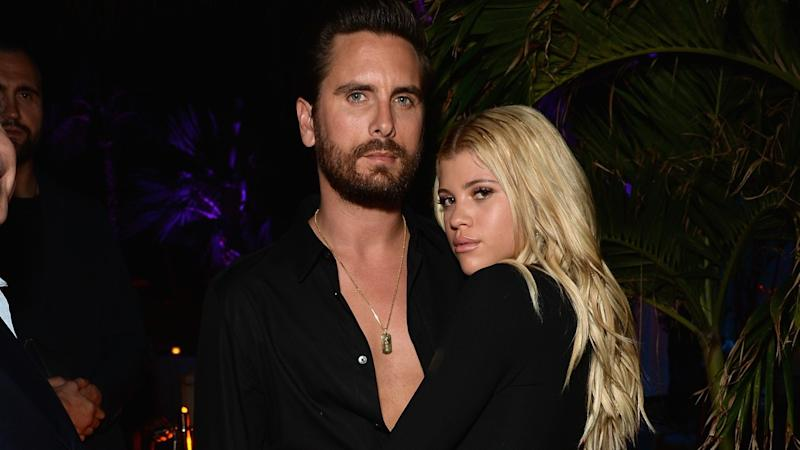 Sofia Richie Sends Bikini Birthday Wishes to Boyfriend Scott Disick