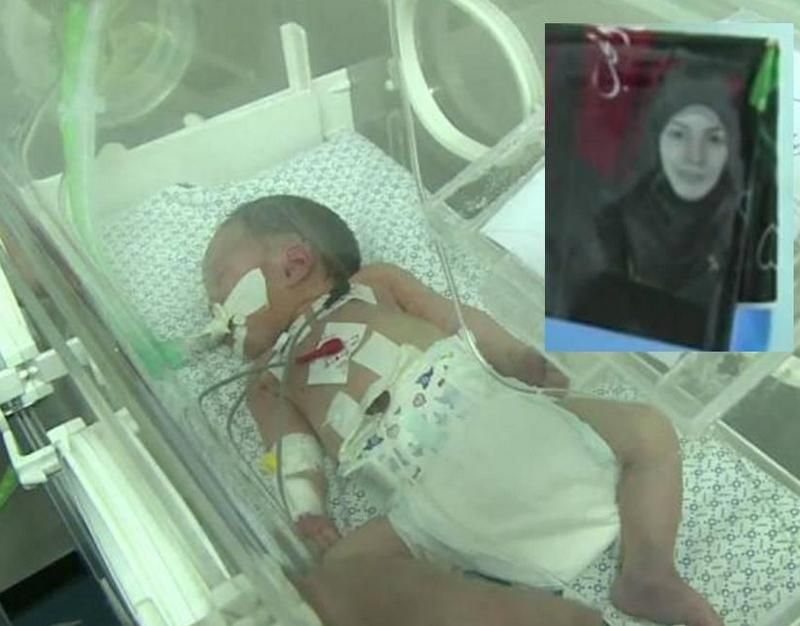 Gaza: 5-Day-Old 'Miracle Baby' Shayma Born from Dead Mother Dies in Incubator