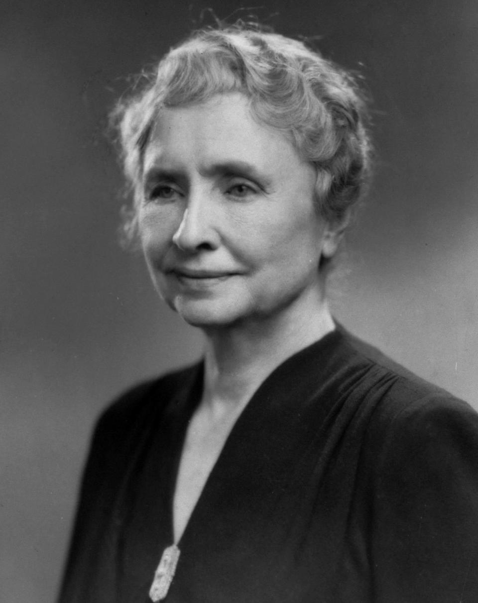 Helen Keller. (Photo: Time Life Pictures/Pix Inc./The LIFE Picture Collection/Getty Images)