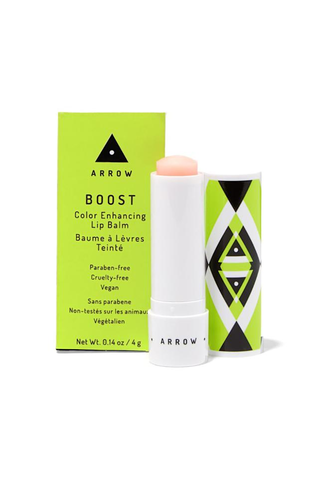 """<p><span>When this beauty subscription service for busy-ladies-on-the-go launched a makeup line atBirchbox, this lip balm sold like gangbusters.Designed to enhanceyour natural lip color by adjusting to your natural pH, it's tailor made just for you.</span></p><p><strong>Arrow Boost Color Enhancing Lip Balm, $14;<a rel=""""nofollow"""" href=""""https://www.birchbox.com/shop/arrow-boost-color-enhancing-lip-balm"""">birchbox.com</a>.</strong></p>"""