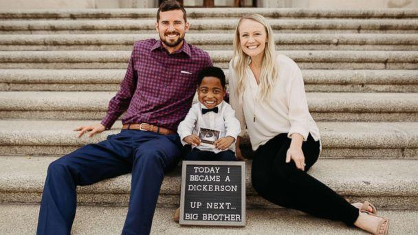PHOTO: Jeremiah Dickerson, 4, was officially adopted on July 16, 2018. (Dani Brewer Photography)