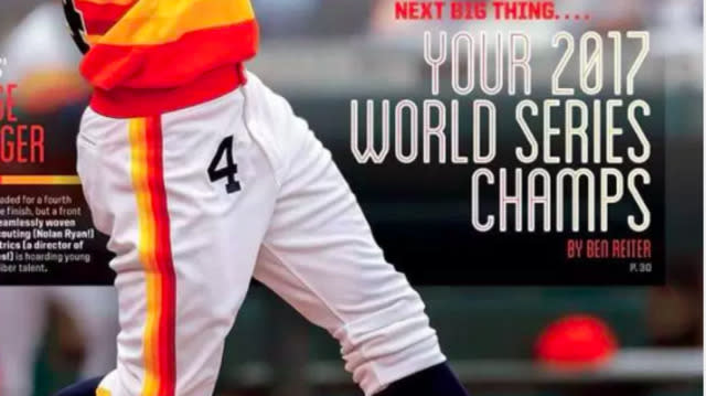 Sports Illustrated Predicted Astros Would Win 2017 World Series Years Ago