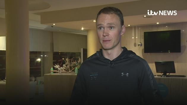 4 – time Tour De France winner Chris Froome denies any wrongdoing after returning an adverse drugs test at the Vuelta a Espana.