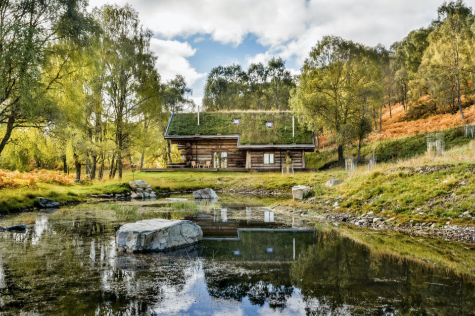"""<p>The log cabins of a lumberjack's dreams, Eagle Brae sits on thousands of acres of wilderness in the Scottish Highlands – with all the glens, lochs and free-roaming deer you could wish for. Each one sleeps between two and six guests, and has an open-plan living space with a log-burner and squashy sofa. It's just half an hour by car to Inverness, with the village of Beauly offering nightlife as rowdy as it gets around here. You'll also be able to order locally sourced meat or fully cooked meals from the team if you want to take the hibernation theme seriously.</p><p>Eagle Brae, from £1,366 a week, with <a href=""""https://www.coolstays.com/property/eagle-brae/20667"""" rel=""""nofollow noopener"""" target=""""_blank"""" data-ylk=""""slk:Cool Stays"""" class=""""link rapid-noclick-resp"""">Cool Stays</a>.</p>"""