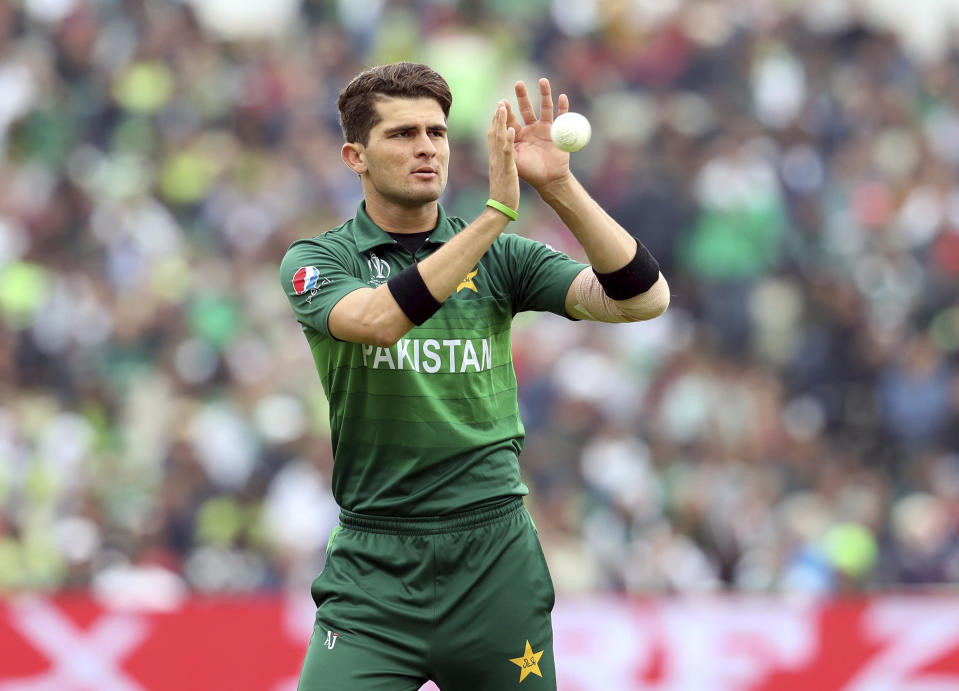 Pakistan's Shaheen Shah Afridi finished as Pakistan's second-highest wicket-taker.