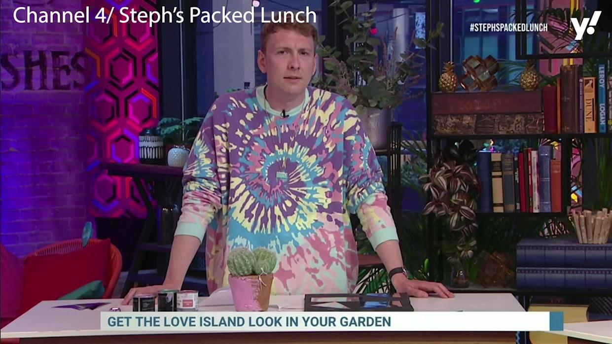 <p>Viewers were left scratching their heads when Joe Lycett appeared to walk off <em>Steph's Packed Lunch</em> after an awkward exchange.<br>Things seemed to get a little tense when presenter Steph McGovern challenged the comedian about his plastic bottle ban, despite being pictured with one in his own garden.</p>