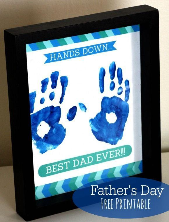 """<p>This one already comes with a printable, so all you have to do is grab some blue tempera paint and get your kids to start stamping their hands. </p><p><em><a href=""""https://www.catchmyparty.com/blog/free-fathers-day-printable-gift"""" rel=""""nofollow noopener"""" target=""""_blank"""" data-ylk=""""slk:Get the tutorial from Catch My Party »"""" class=""""link rapid-noclick-resp"""">Get the tutorial from Catch My Party »</a></em> </p>"""