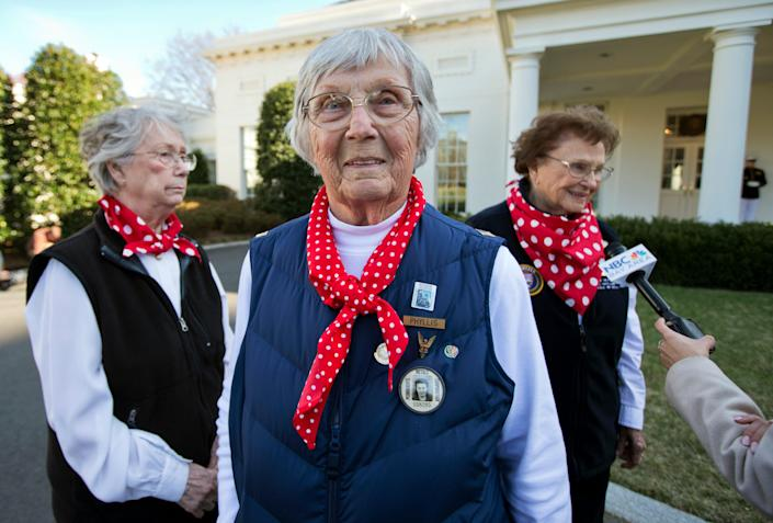 Obit Phyllis Gould (Copyright 2021 The Associated Press. All rights reserved.)