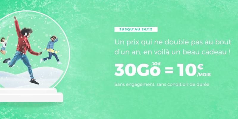 RED by SFR : 30 Go de data à 10€/mois seulement