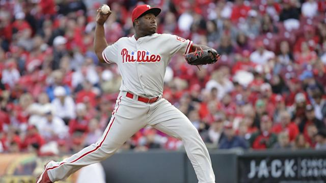Neris will be the Phillies' third closer this month.