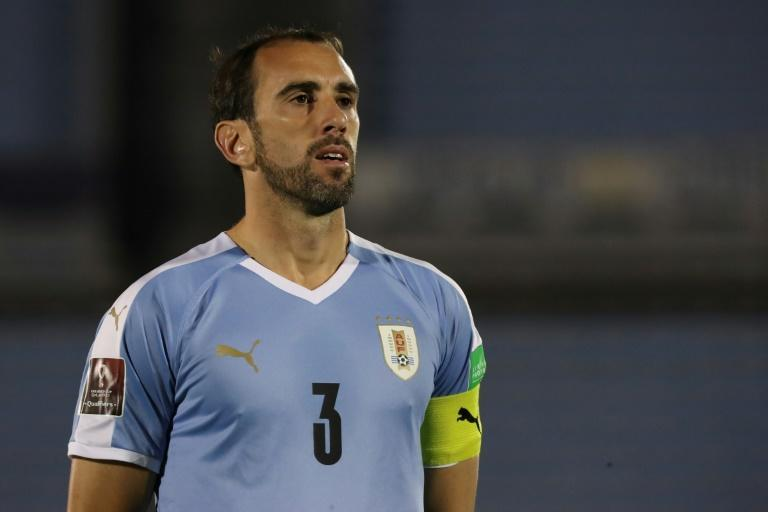 Diego Godin is the latest Uruguay player to test positive for Covid-19 after joining up with the national team for World Cup qualifiers