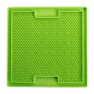 Hyper Pet(TM) LickiMat Bordom Buster Slow Feeder Dog/Cat Mat in Green