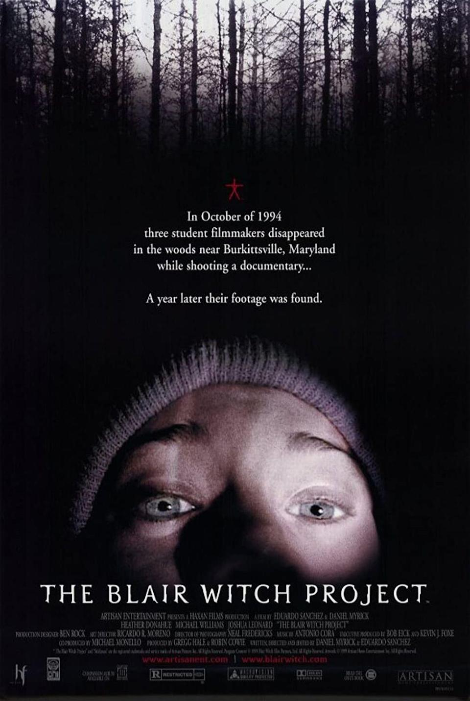 """<p>Do you remember how much buzz swirled around this film when it came out in 1999? People hadn't seen anything like the shaky, handheld camera work meant to feel authentically like the terrifying filmic experience of three students who vanish after heading into the forest to film a documentary on a local witch legend.</p><p><a class=""""link rapid-noclick-resp"""" href=""""https://go.redirectingat.com?id=74968X1596630&url=https%3A%2F%2Fwww.hulu.com%2Fmovie%2Fthe-blair-witch-project-e5307026-7b10-4359-a60d-0101624fb9ec&sref=https%3A%2F%2Fwww.womansday.com%2Flife%2Fentertainment%2Fg37360837%2Fbest-witch-movies%2F"""" rel=""""nofollow noopener"""" target=""""_blank"""" data-ylk=""""slk:WATCH NOW"""">WATCH NOW</a></p>"""