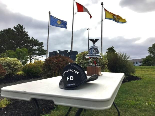 William Anderson was 20 when he died in the line of duty in February, 1865. He will be honoured at a memorial ceremony in downtown Fredericton on Saturday. (David McKinley/Submitted - image credit)