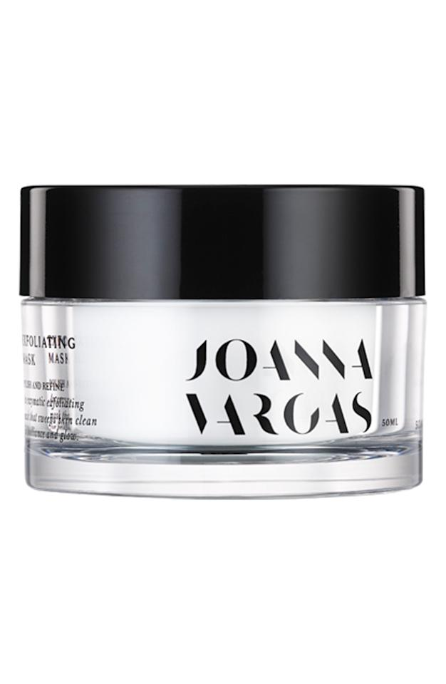 "<p><strong>JOANNA VARGAS</strong></p><p>nordstrom.com</p><p><strong>$75.00</strong></p><p><a href=""https://shop.nordstrom.com/s/joanna-vargas-exfoliating-mask/4695677"" target=""_blank"">SHOP NOW</a></p><p>Sleep with this exfoliating mask on twice a week to banish breakouts, thanks to key ingredients like galactoarabinan, kaolin clay, and volcanic ash. Galactoarabinan boosts cell turnover even faster than lactic or glycolic acid-and it brights skin and tightens pores. And the kaolin clay draws out skin impurities while retaining beneficial oils.</p>"