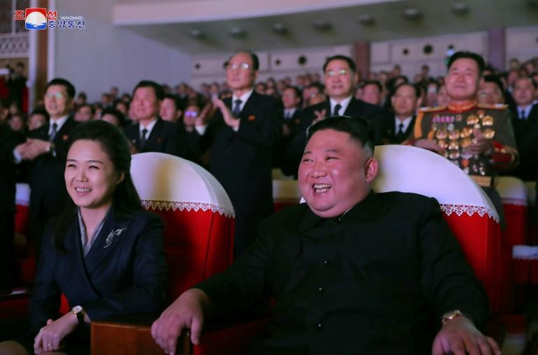 Ri joined her husband at a concert commemorating the birthday of Kim's father and predecessor Kim Jong Il