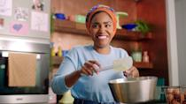 """<p>Are you tired of relying on your three go-to dishes, over and over? Speaking to journalists for her new Netflix show <em>Waffles + Mochi</em>, former <a href=""""https://www.oprahdaily.com/entertainment/tv-movies/a35842331/michelle-obama-waffles-mochi-interview/"""" rel=""""nofollow noopener"""" target=""""_blank"""" data-ylk=""""slk:First Lady Michelle Obama"""" class=""""link rapid-noclick-resp"""">First Lady Michelle Obama</a> shared that she used to make the same meal for her daughters—couscous and broiled chicken—all the time (relatable). The answer to diversifying your dinner recipe rotation may be found on Netflix. The streaming platform is home to countless cooking and food shows, including the delightful, kid-friendly one hosted by Mrs. Obama (alongside two puppets).</p><p>If you're <a href=""""https://www.oprahdaily.com/life/relationships-love/g26977815/family-road-trip-on-a-budget/"""" rel=""""nofollow noopener"""" target=""""_blank"""" data-ylk=""""slk:longing to travel"""" class=""""link rapid-noclick-resp"""">longing to travel</a>, shows like <em><a href=""""https://www.netflix.com/title/80146601"""" rel=""""nofollow noopener"""" target=""""_blank"""" data-ylk=""""slk:Somebody Feed Phil"""" class=""""link rapid-noclick-resp"""">Somebody Feed Phil</a> </em>and <em><a href=""""https://www.netflix.com/watch/80170368?source=35"""" rel=""""nofollow noopener"""" target=""""_blank"""" data-ylk=""""slk:Ugly Delicious"""" class=""""link rapid-noclick-resp"""">Ugly Delicious</a> </em>span the globe to unpack the world's best culinary offerings. Inspired by her bestselling cookbook, Samin Nosrat's four-part series, <em><a href=""""https://www.netflix.com/title/80198288"""" rel=""""nofollow noopener"""" target=""""_blank"""" data-ylk=""""slk:Salt Fat Acid Heat"""" class=""""link rapid-noclick-resp"""">Salt Fat Acid Heat</a></em> unpacks the primary components of cooking, and in doing so gives lessons that'll be welcome in any kitchen. If prefer a good adrenaline rush, watch high-stakes competition shows like <em><a href=""""https://www.netflix.com/title/80201866"""" rel=""""nofollow noopener"""" target=""""_blank"""" data-ylk"""