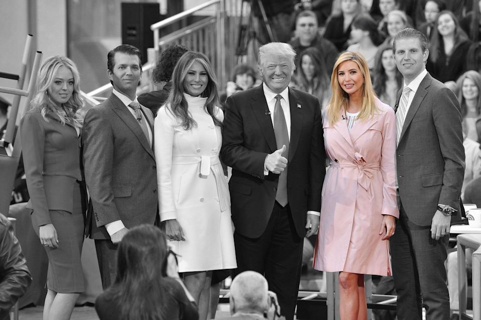 Ivanka Trump is popularly understood to be Donald Trump's favourite child. [Photo: Getty]