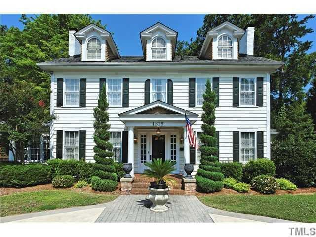 "<strong><a href=""http://homes.yahoo.com/search/North_Carolina/Raleigh/homes-for-sale"" target=""_blank"">Raleigh, NC</a> </strong><br /> <p><a href=""http://homes.yahoo.com/North_Carolina/Raleigh/1315-wake-forest-rd:6f5a3494ae1da800868c2a14c823cd64/"">1315 Wake Forest Rd, Raleigh, NC</a></p> <p>For sale: $525,000</p> <br /> <p>This Mordecai landmark has been renovated from the ground up. A bright open foyer leads into two formal living rooms with fireplaces†ó in fact, there are four fireplaces throughout the home. A black-and-white-checkered kitchen floor also adds to the home's character.</p>"