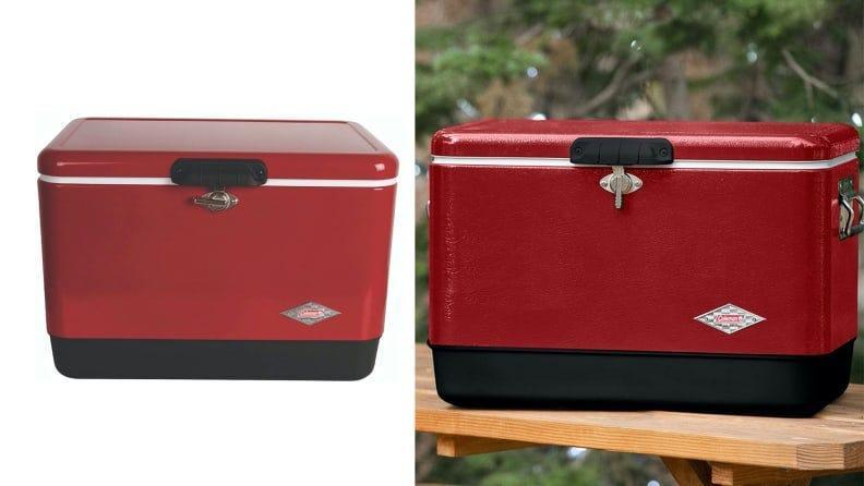 This Coleman steel-belted cooler is supposed to be able to keep ice cold for more than four days.