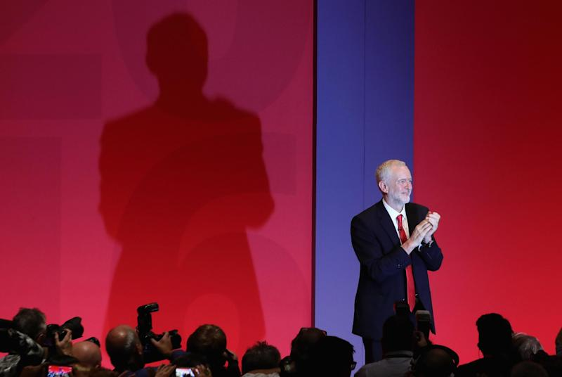 Jeremy Corbyn said recent policy announcements meant Labour offered a 'clear and credible choice for the country': Getty