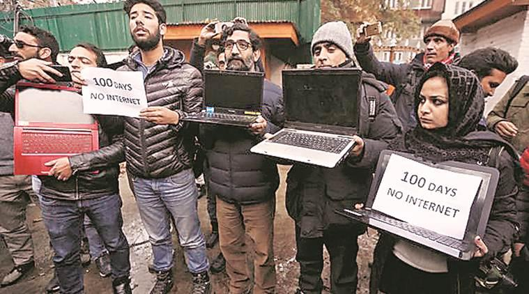 sc ruling kashmir internet, jammu kashmir internet shutdown, internet shutdown kashmir news, jk restrictions article 370, latest news