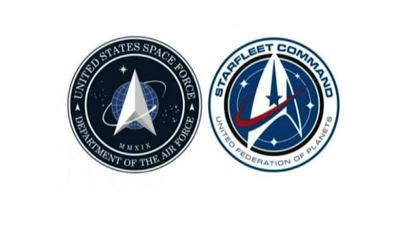 Gaffe spaziali, US Space Force: il logo è quello di Star Trek
