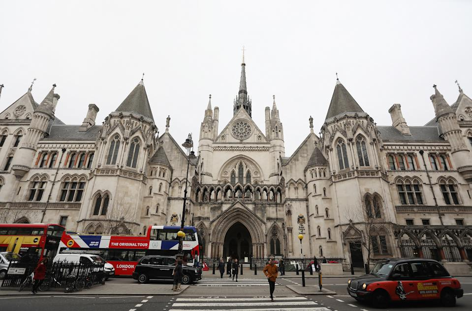 The anonymity ruling was made at the Royal Courts of Justice in London (Picture: PA)