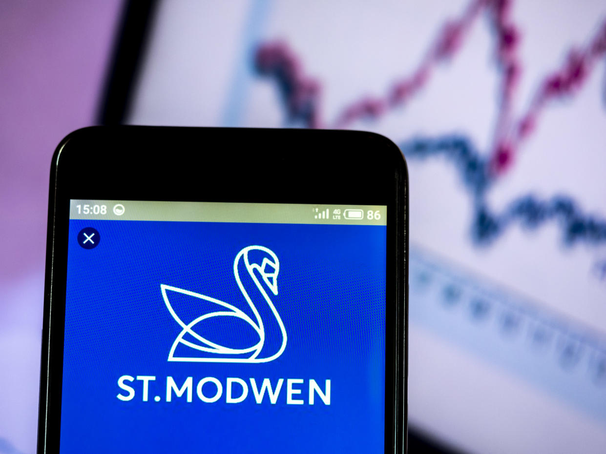 Birmingham-based St Modwen, which develops and manages both industrial and residential properties, climbed 1.7% on the back of the news on Thursday. Photo: Igor Golovniov/SOPA Images/LightRocket via Getty Images