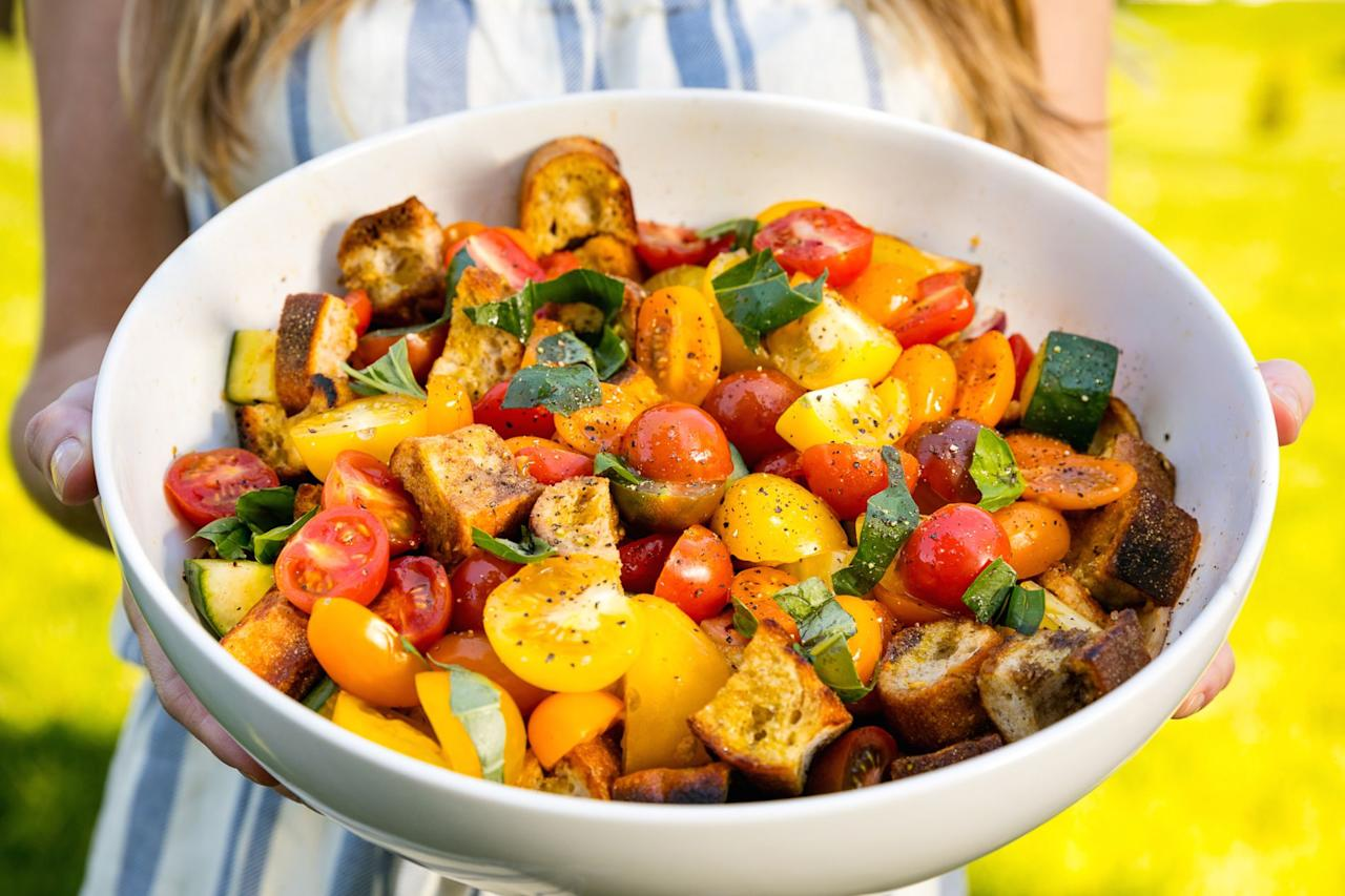 """<p>Grilling isn't just about <a rel=""""nofollow"""">burgers</a> and <a rel=""""nofollow"""">ribs</a>. </p><p>Looking for more meat-free ideas? Try our amazing <a rel=""""nofollow"""">grilled vegetables</a> and <a rel=""""nofollow"""">veggie burger recipes</a>.</p>"""