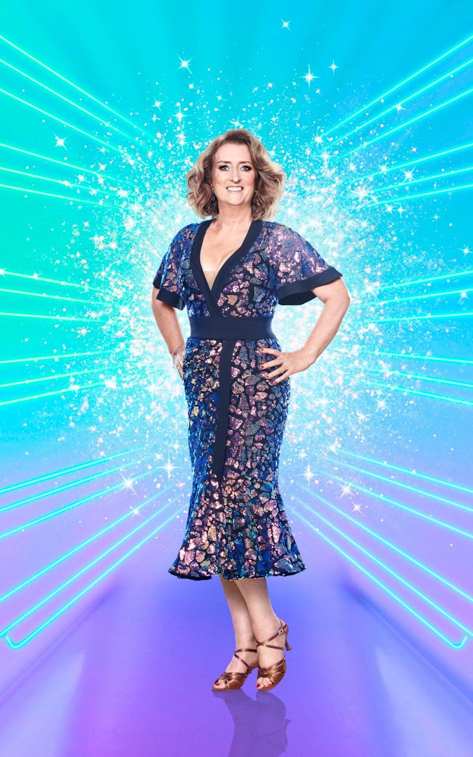 Jacqui Smith on Strictly - Ray Burmiston/BBC