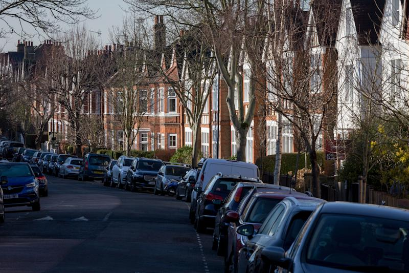 Cars parked along a residential street in Herne Hill SE24, on 10th February 2019, in London, England. (Photo by Richard Baker / In Pictures via Getty Images)