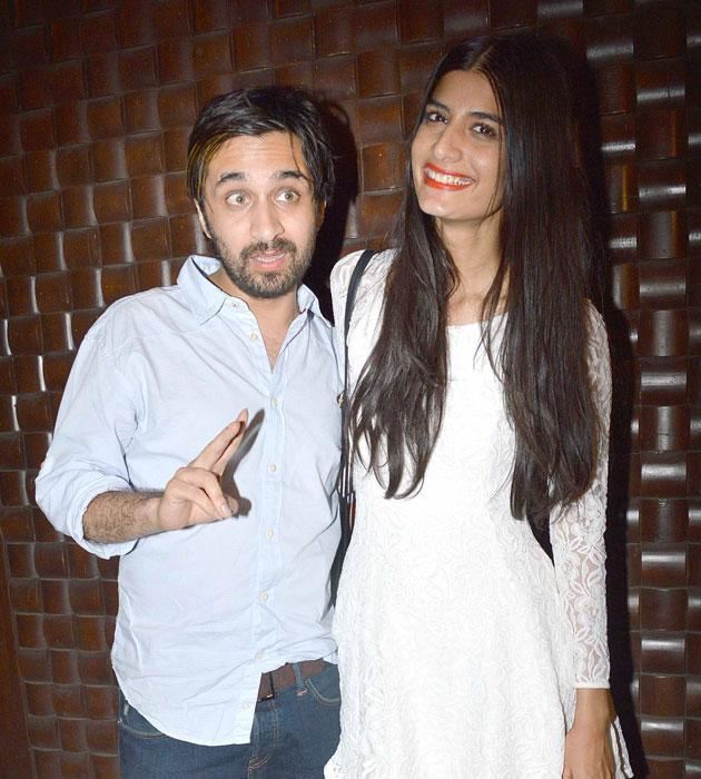 Siddhanth Kapoor arrives for the bash