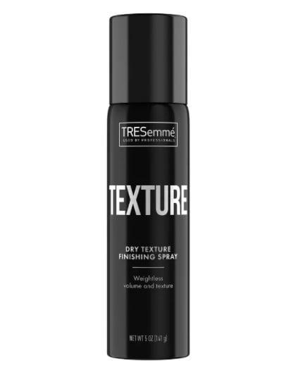 """<p>For beach waves that will stay all day, reach for the <a href=""""https://www.popsugar.com/buy/Tresemme-Premium-Styling-Dry-Texture-Finishing-Spray-172925?p_name=Tresemme%20Premium%20Styling%20Dry%20Texture%20Finishing%20Spray&retailer=ulta.com&pid=172925&price=7&evar1=bella%3Auk&evar9=30490550&evar98=https%3A%2F%2Fwww.popsugar.com%2Fbeauty%2Fphoto-gallery%2F30490550%2Fimage%2F34348661%2FWave-Sprays-Tresemme-Premium-Styling-Dry-Texture-Finishing-Spray&list1=hair%2Cmakeup%2Cbeauty%20products%2Clor%C3%A9al%2Cbeauty%20shopping%2Cdrugstore%20beauty%2Cskin%20care&prop13=api&pdata=1"""" class=""""link rapid-noclick-resp"""" rel=""""nofollow noopener"""" target=""""_blank"""" data-ylk=""""slk:Tresemme Premium Styling Dry Texture Finishing Spray"""">Tresemme Premium Styling Dry Texture Finishing Spray</a> ($7).</p>"""