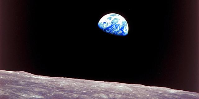 Apollo 8 view of earthrise over the moon. Photo: Time Life Pictures/NASA/The LIFE Picture Collection via Getty Images